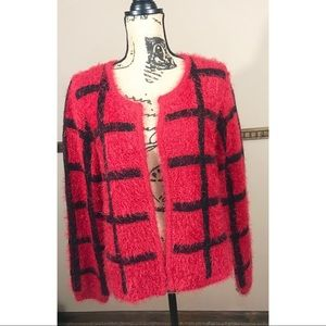 NY Collection Cardigan Sweater